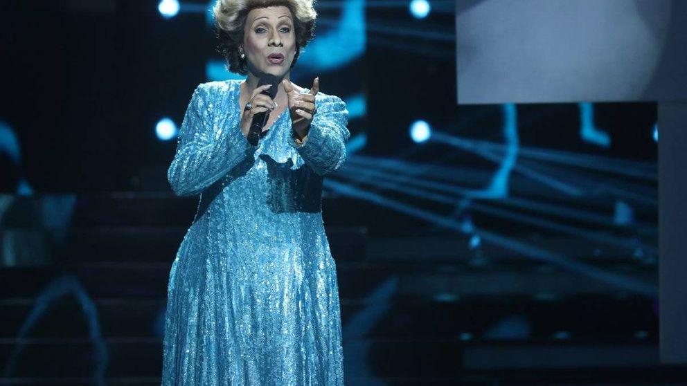 Cristóbal gana la gala 1 de 'Tu cara no me suena todavía' imitando a Olga Guillot