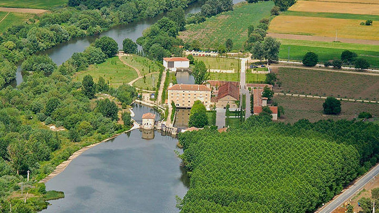 La Hacienda Zorita está en la ribera del río Tormes