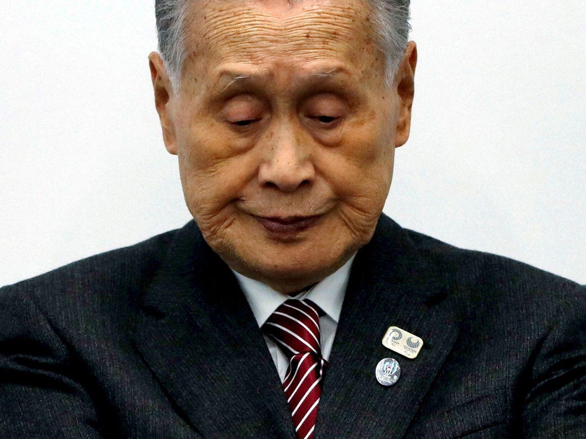 Foto: Yoshiro Mori, en una foto de archivo. (Reuters)