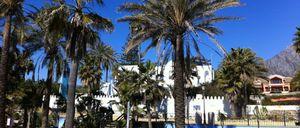 Foto: La 'guerra de los muros' de la casa de los Alba en Marbella toca a su fin