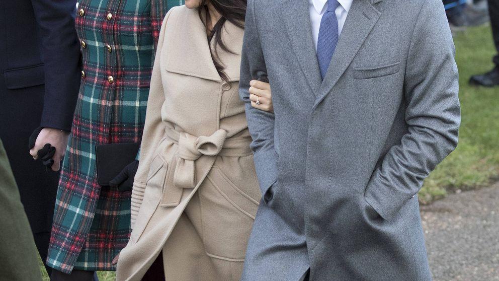 El misterioso (y atrevido) vestido que Meghan Markle llevó a la misa de Navidad