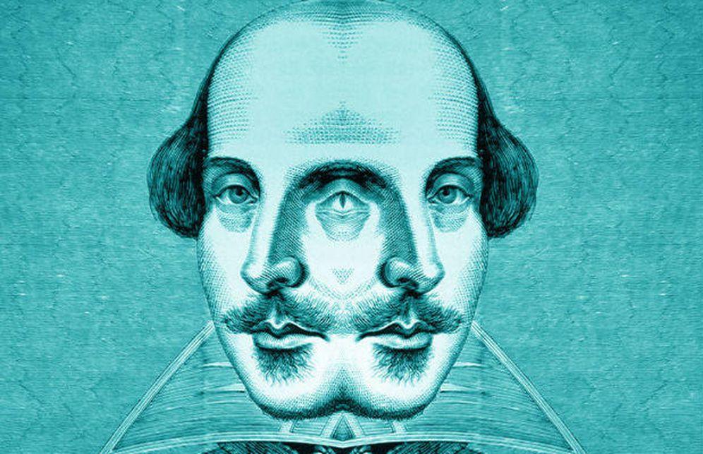 Foto: Shakespeare (Ilustración: Enrique Villarino)