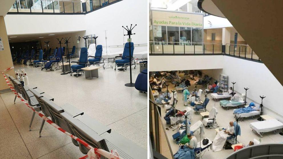 De pacientes en los pasillos a Urgencias vacías: la luz asoma en Madrid