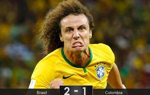 Esta Brasil sufre, no domina, no marca de jugada, pero está en semis