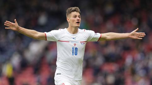 Casi 50 metros: Schick marca el gol de la Eurocopa en la victoria checa frente a Escocia