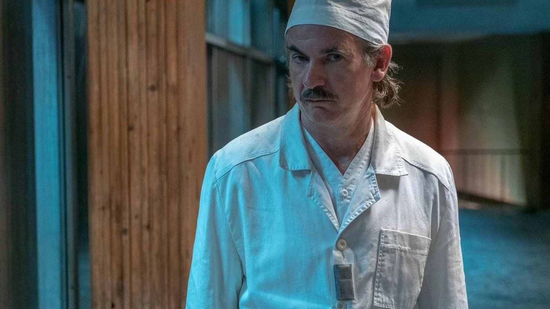 Anatoly Dyatlov, en 'Chernobyl'. (HBO)