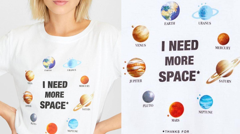Un estampado perfecto para las amantes de la astrofísica. (Cortesía)