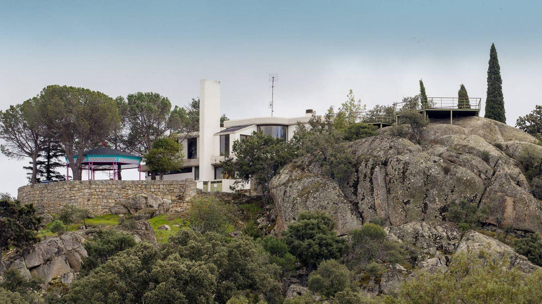 Vista de la casa familiar de Rocío Dúrcal y Junior. (J. Martín)