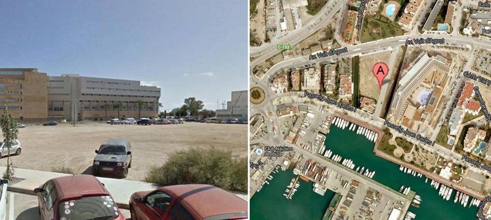 Foto: El solar, de más de 5.000 metros cuadrados, está situado junto al Puerto de Ibiza.