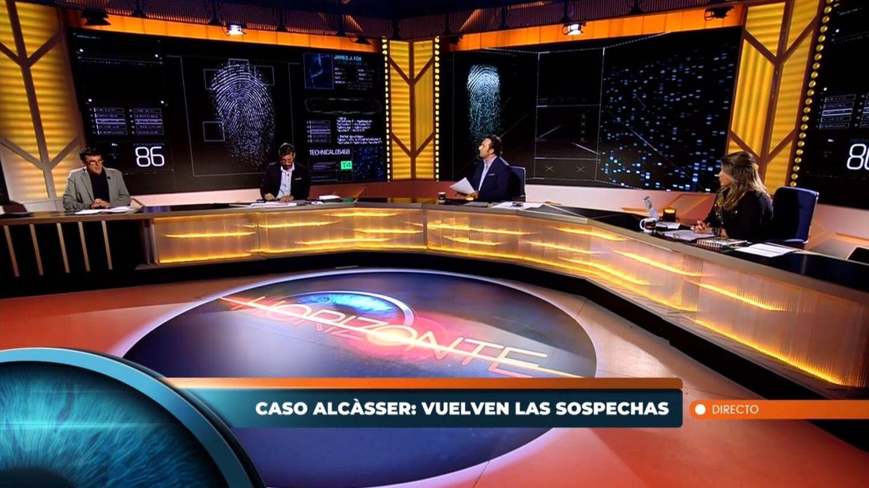 Plató de 'Horizonte'. (Mediaset España)