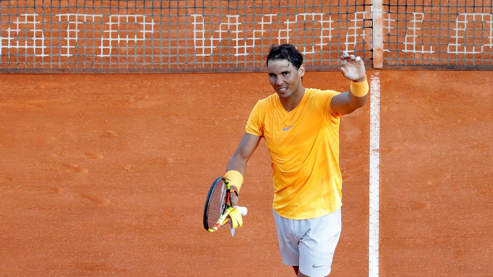 Foto: Nadal, en Montecarlo. (Reuters)