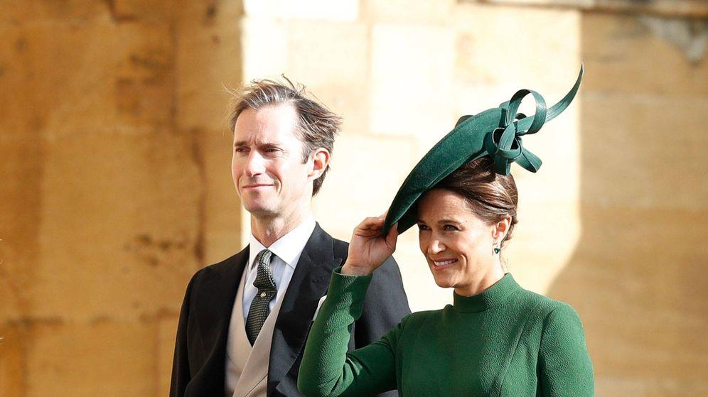 Foto: Pippa y James Matthews en la boda de Eugenia. (Getty)