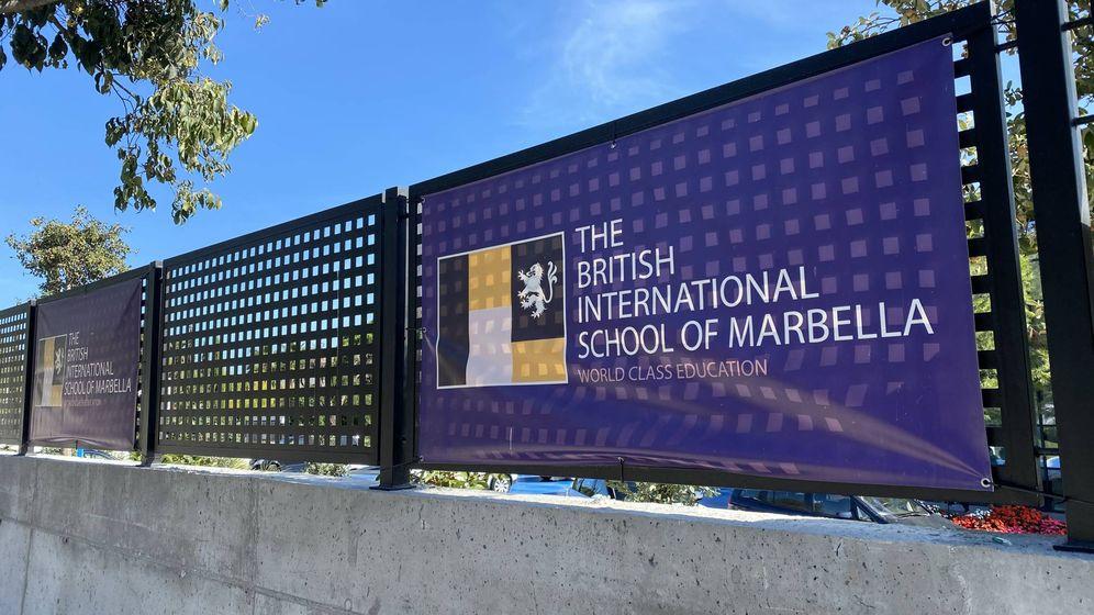 Foto: Exterior del British International School of Marbella. (Agustín Rivera)