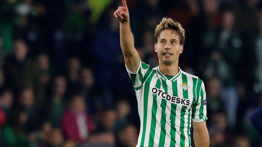 Foto: Sergio Canales celebrando un gol. (Reuters)