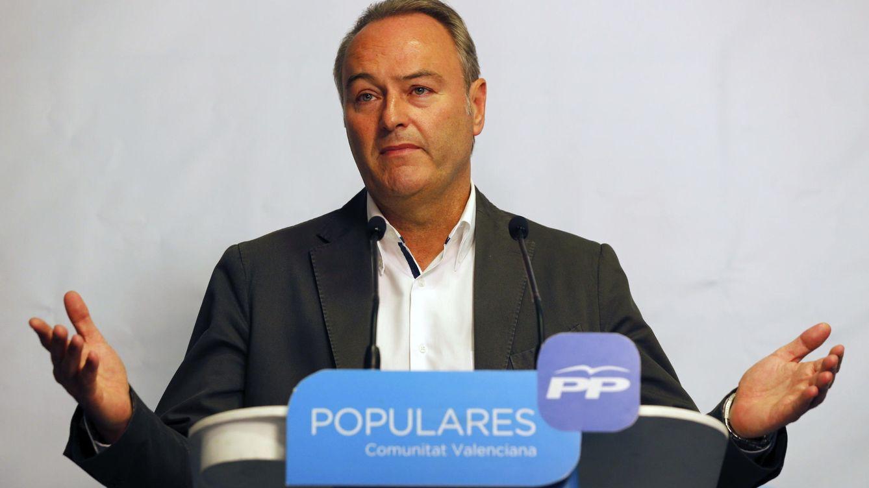 Alberto Fabra negocia con sus barones su sustituto y no se presentará a la reelección