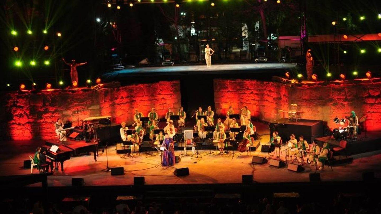 El teatro romano de Cartago es uno de los escenarios donde se celebra la 53 edición de este festival.