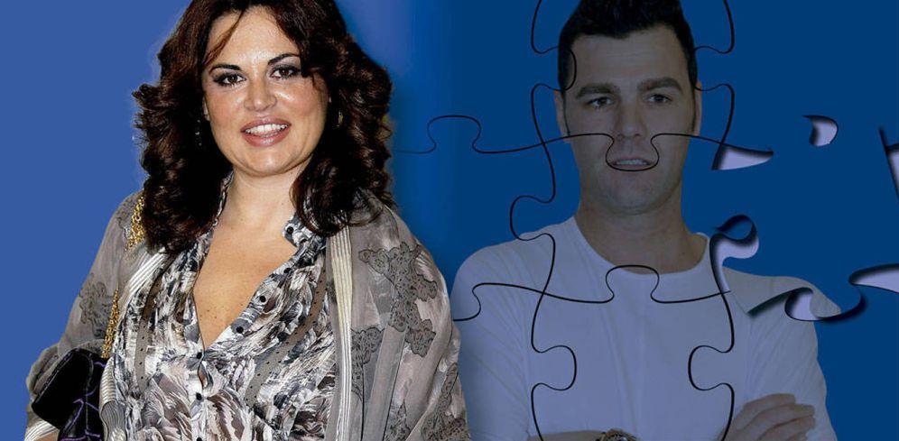 Foto: Teresa Bueyes y Fonsi Nieto en un fotomontaje realizado en Vanitatis.