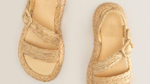 Estás avisada: estas sandalias planas de rafia de Zara Home serán un must-have