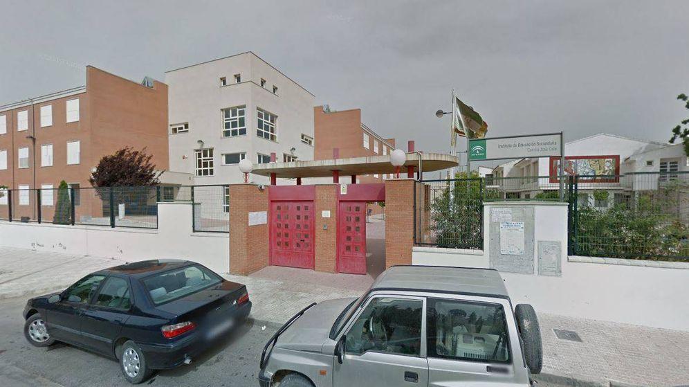 Foto: Fachada del instituto de Málaga en el que se produjo la agresión. Foto: Google Maps