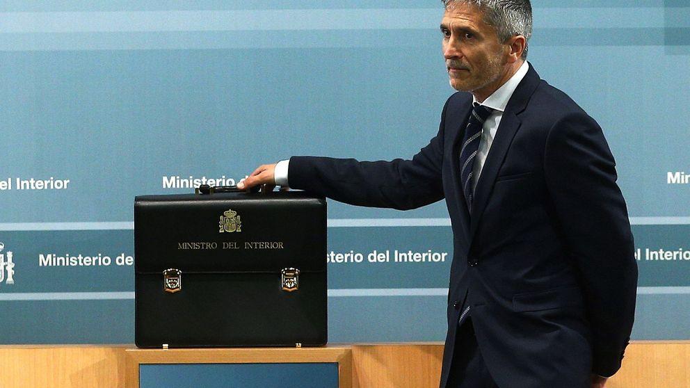 Marlaska respalda trasladar a los 'presos del procés' y quitar las concertinas