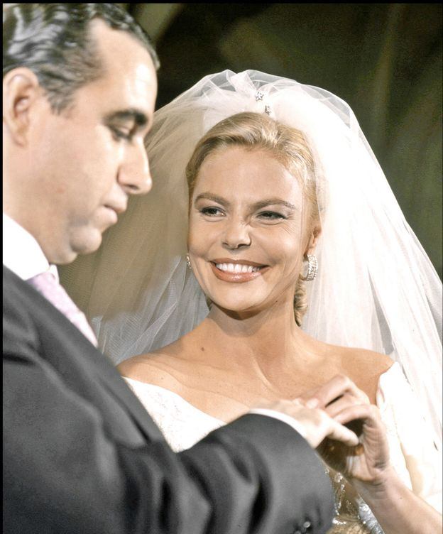 Foto: Leticia Sabater y José María Fernández Mayo el día de su boda (Gtres)