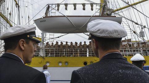 El buque-escuela Mircea zarpa a Portugal