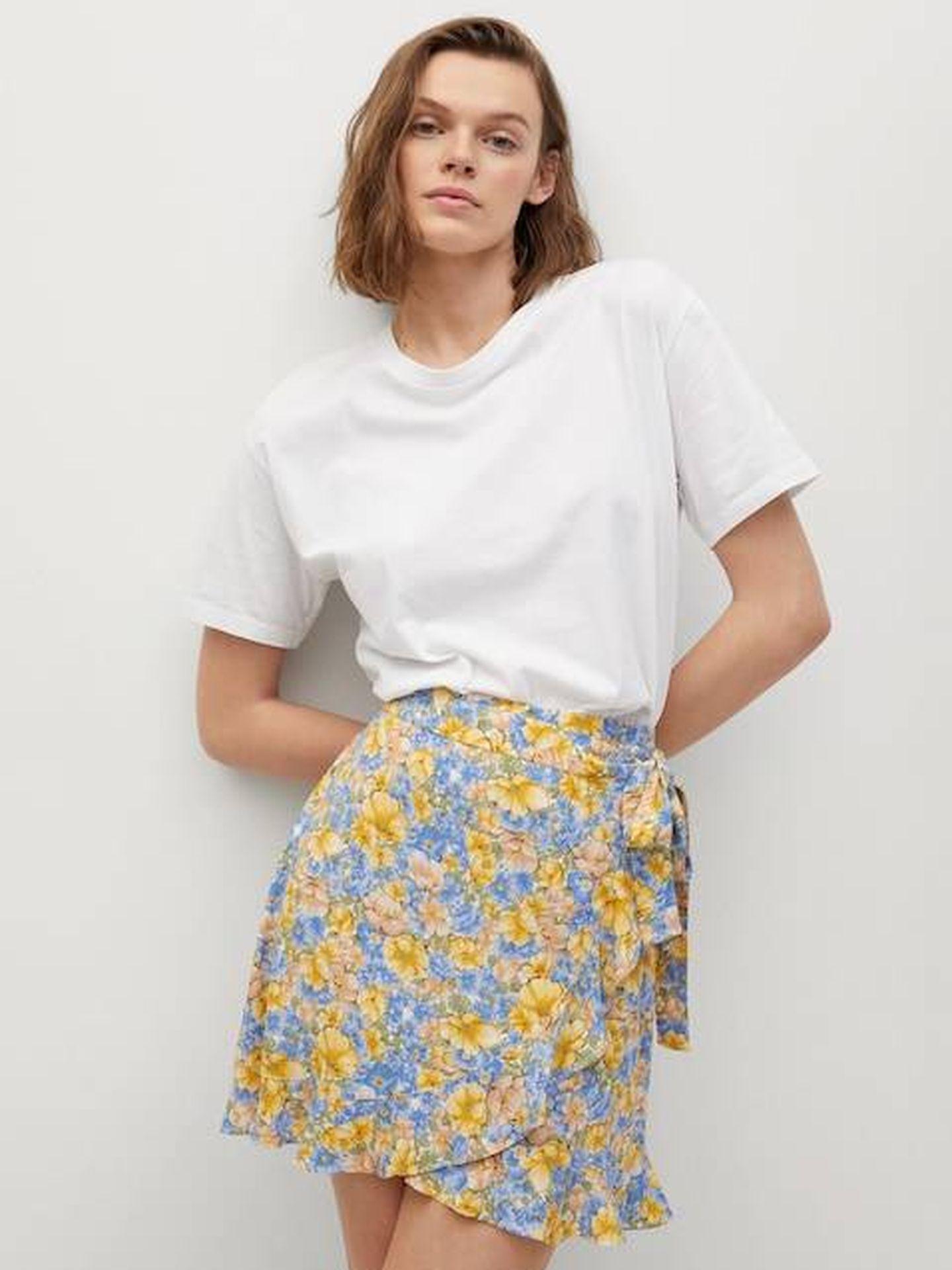 Falda de Mango. (Cortesía)