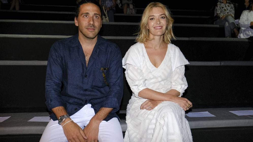 Foto: Marta Ortega y Carlos Torretta en el front row del desfile de Roberto Torretta en la Mercedes-Benz Fashion Week Madrid. (Cordon Press)