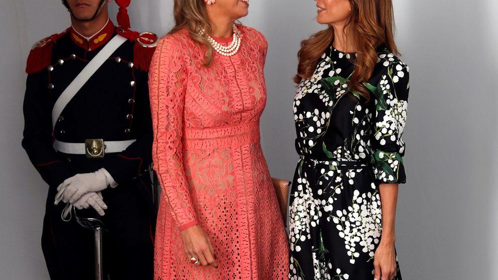 Juliana Awada y Máxima de Holanda, frente a frente (y en buena sintonía)