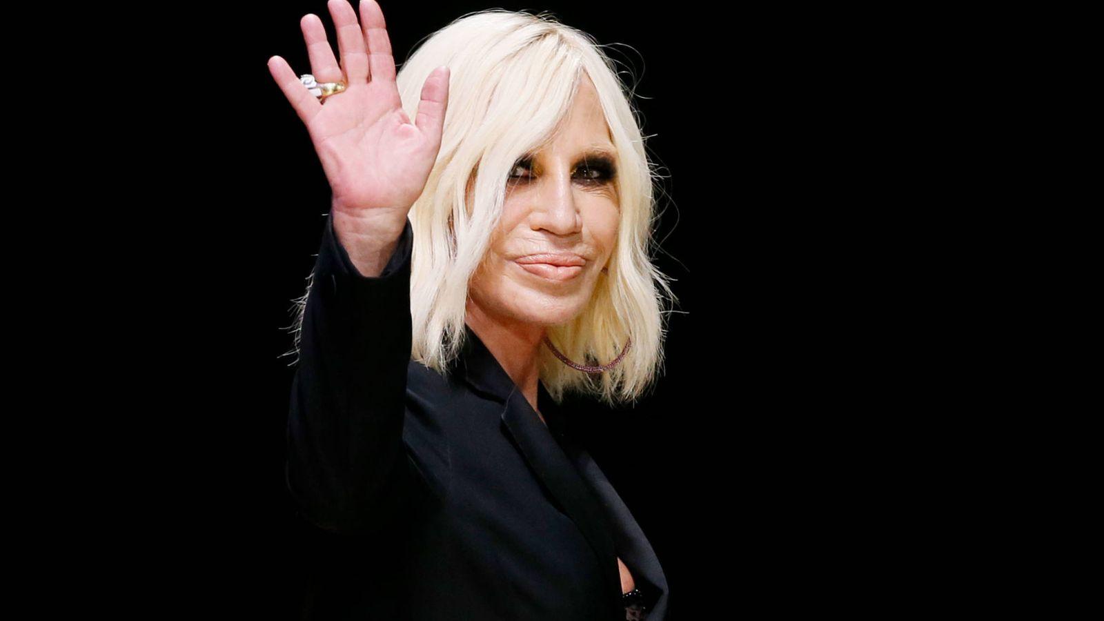 Foto:  Donatella, en una imagen de archivo. (Reuters)