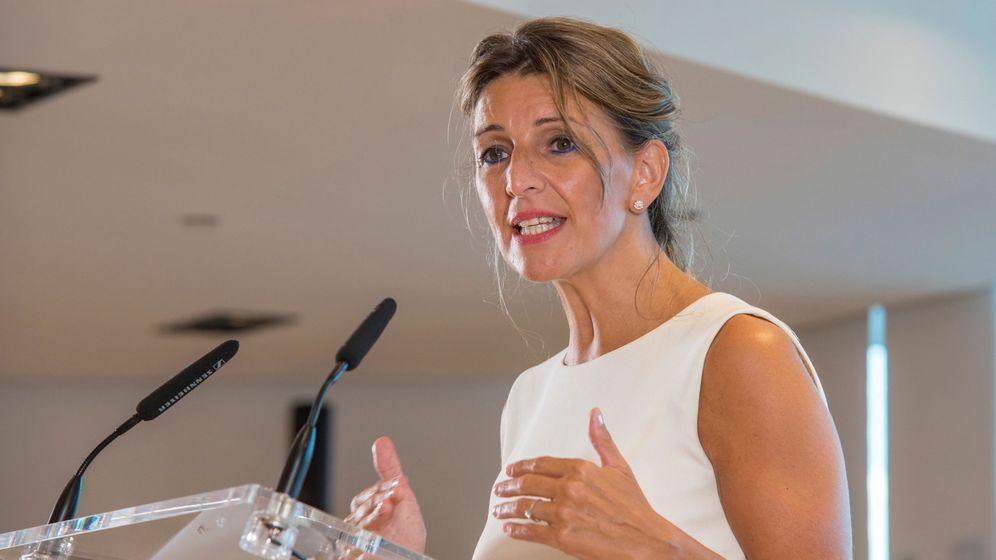 Foto: La ministra de Trabajo Yolanda Díaz. (EFE)