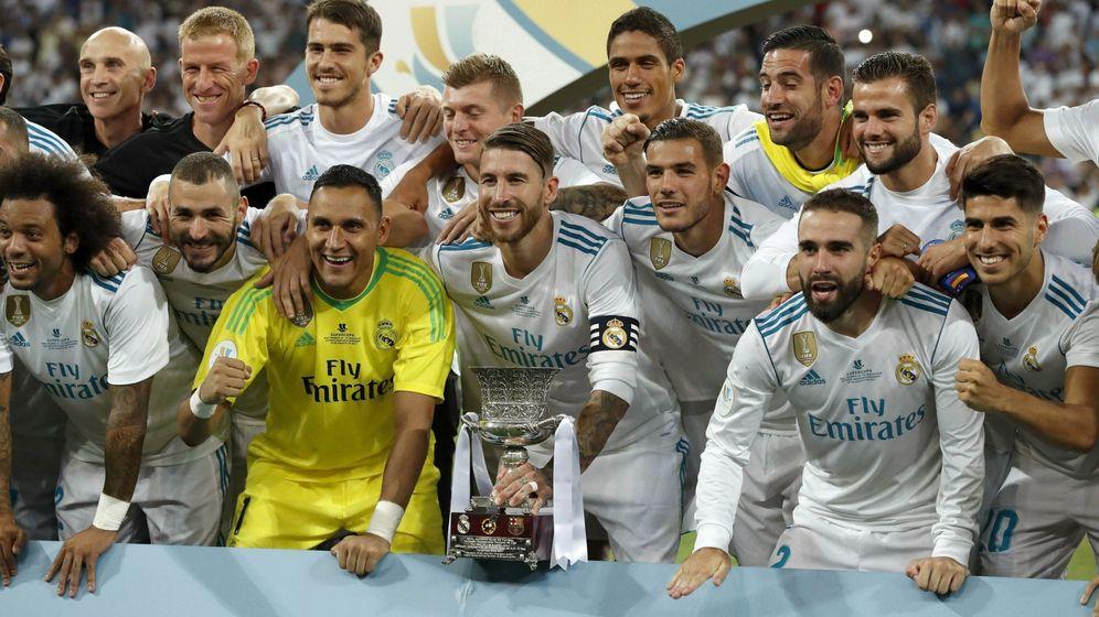 Foto: El Real Madrid ganó la Supercopa de España al FC Barcelona. (EFE)