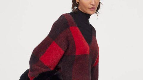 H&M ha creado el minivestido de punto ideal para abrazar el estampado tartán