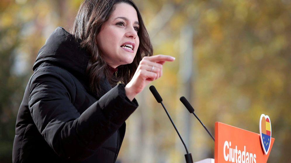 Foto: La candidata de Ciudadanos a la Generalitat, Inés Arrimadas. (EFE)
