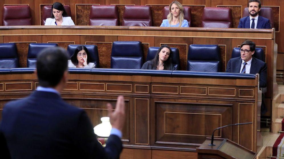 Foto: El Congreso, del confinamiento al lodazal. (EFE)