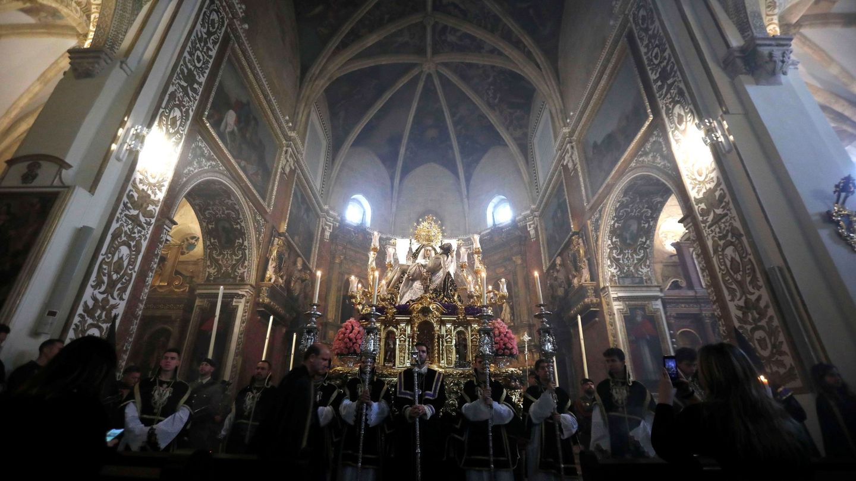 Interior de la Iglesia de San Agustín en Córdoba (EFE/Salas)