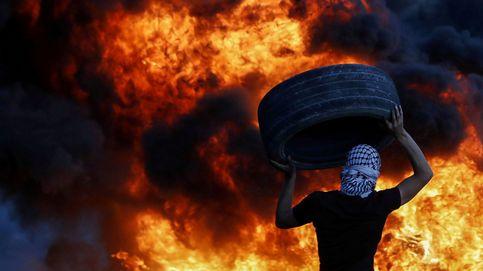 Noche de protestas en Cisjordania