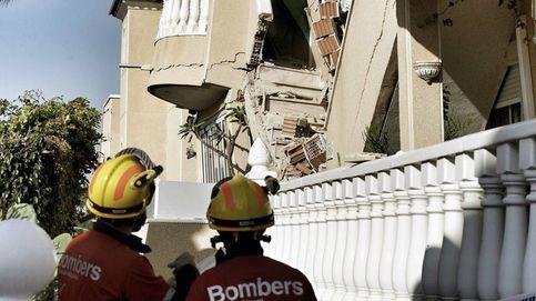 Rescatadas dos personas con vida tras derrumbarse una vivienda en Orihuela