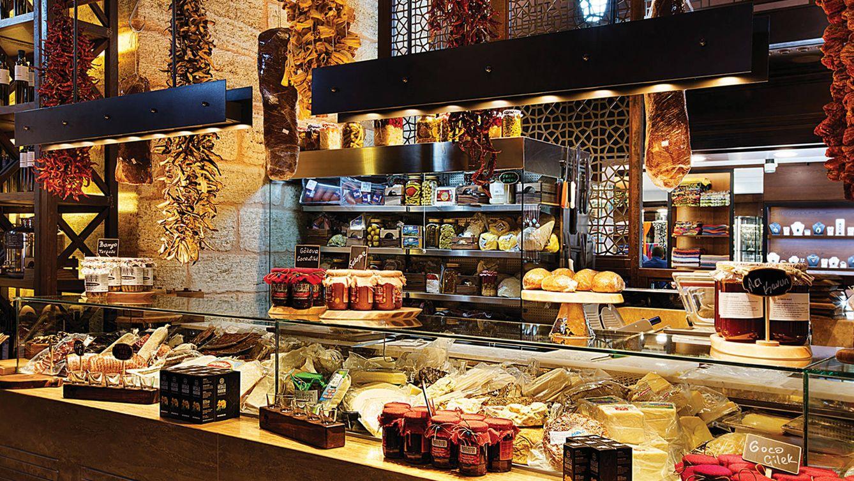 Foto: Imagen de la tienda gourmet y restaurante Delimonti.