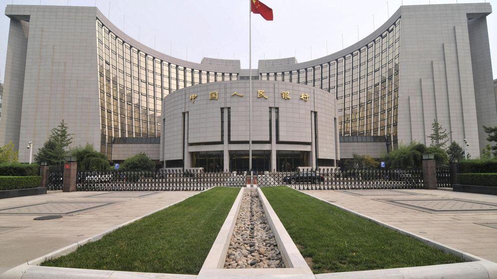 Foto: Sede del Banco Popular de China (EFE)