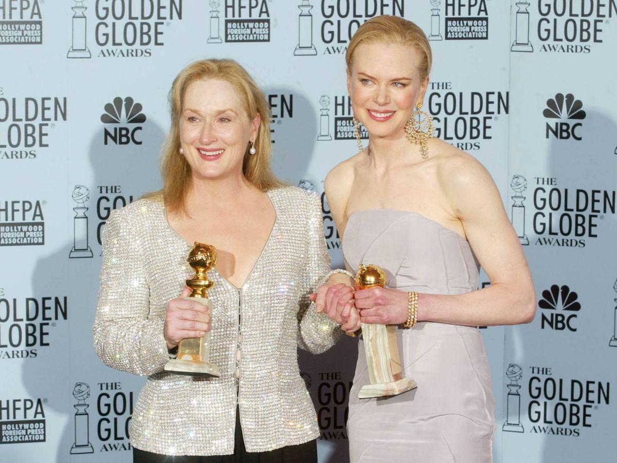 Foto: Meryl Streep y Nicole Kidman, en el Top 10. (Getty)