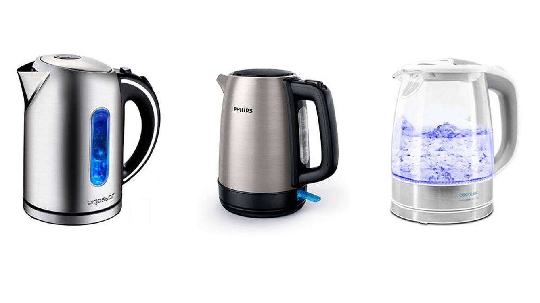 Los cinco mejores hervidores de agua para tener agua caliente en pocos segundos