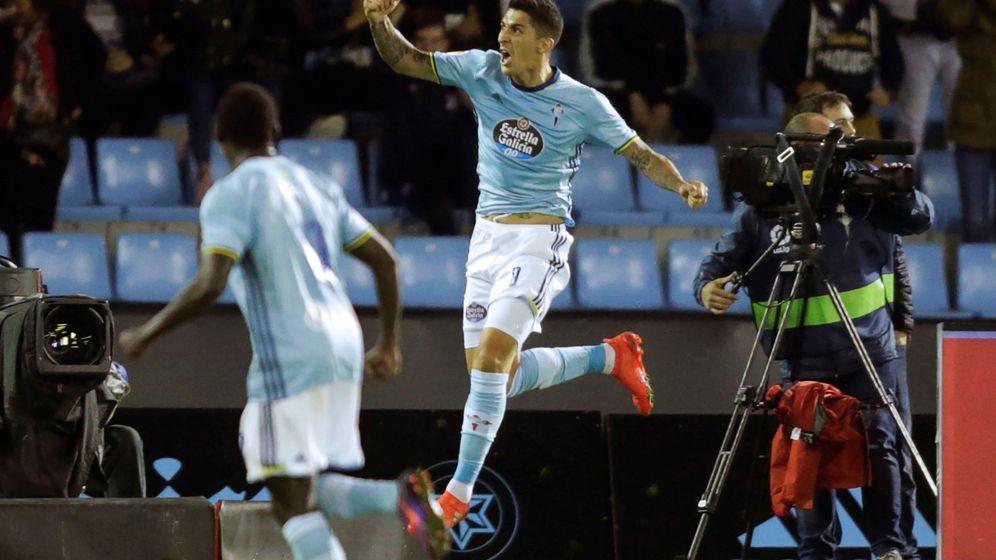 Foto: Jugadores del Celta de Vigo. (Reuters)