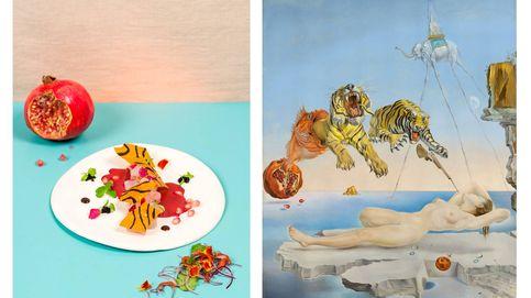 Cómo convertir una obra de Dalí en un ceviche y dónde probarlo