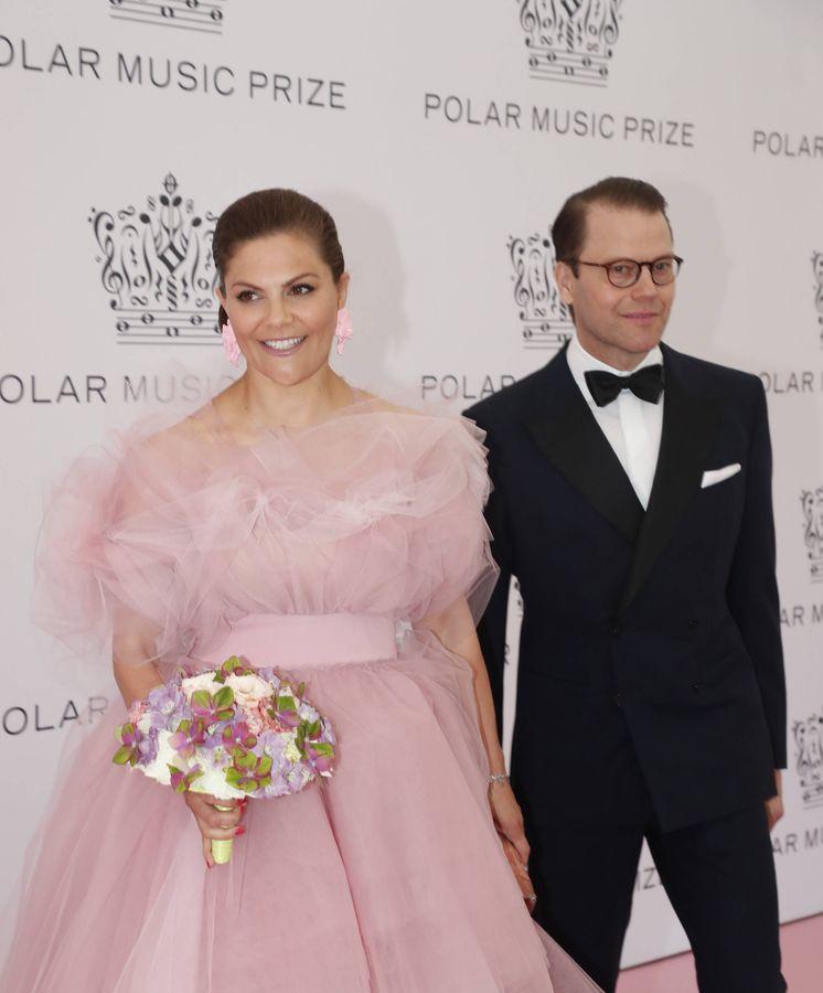 Foto: Victoria y Daniel de Suecia, este martes. (Cordon Press)