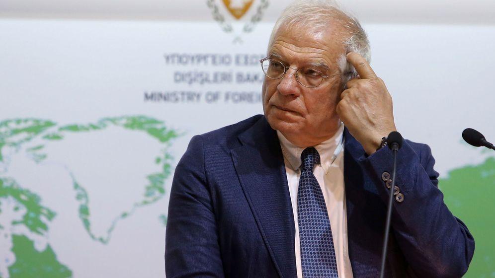 Foto: El Alto Representante de Política Exterior de la UE, Josep Borrell (EFE)