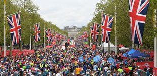 Post de Corre la maratón de Londres disfrazado de Big Ben y en la meta...