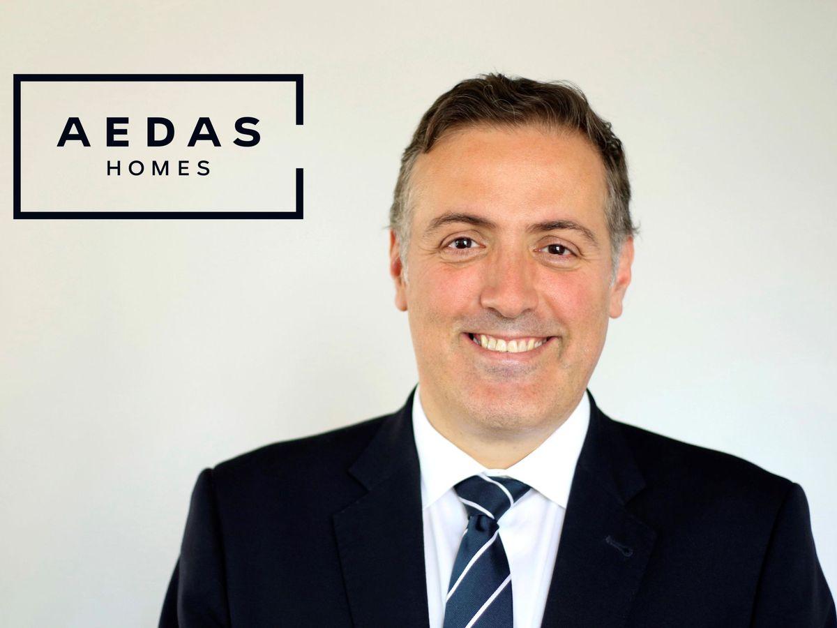Foto: El consejero delegado de la promotora inmobiliaria Aedas Homes, David Martínez. (EFE)