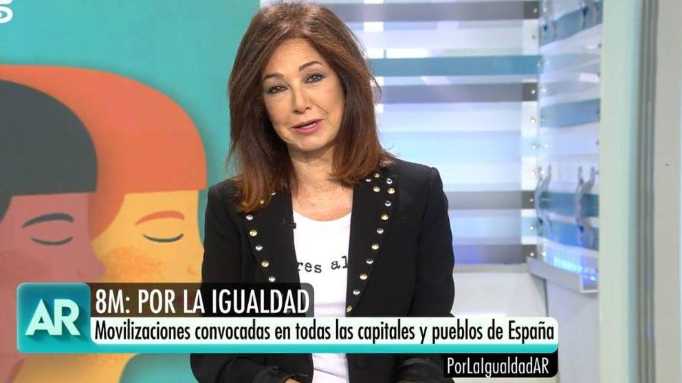 Ana Rosa Quintana, sobre la huelga del 8M: Sobran razones para manifestarse