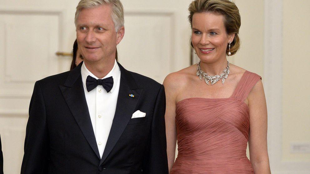 El homenaje de la reina Matilde de Bélgica a la fallecida reina Fabiola